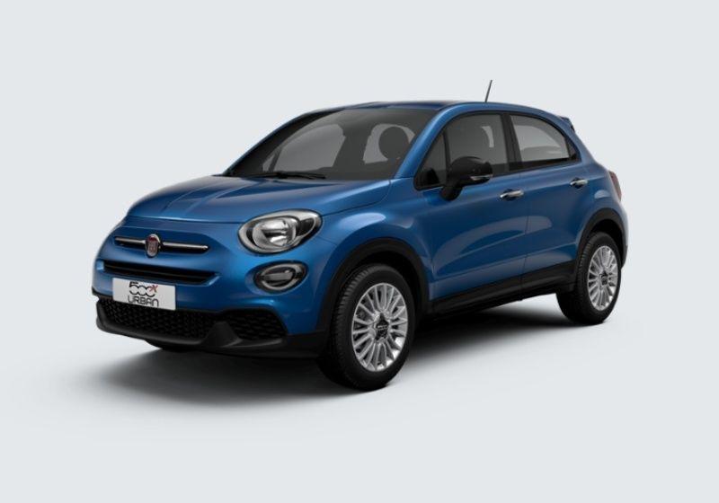 FIAT 500X 1.6 E-Torq 110 CV Urban Blu Italia Km 0 HJY0YJH-31081_esterno_lato_1