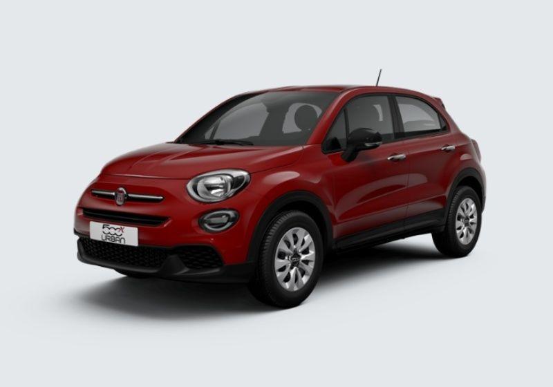 FIAT 500X 1.6 E-Torq 110 CV Urban Rosso Passione Km 0 PS0BCSP-35538_esterno_lato_1