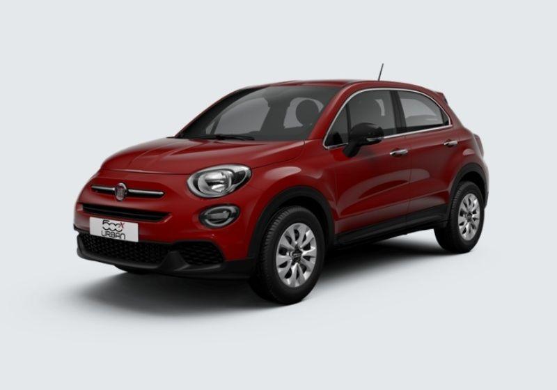 FIAT 500X 1.6 E-Torq 110 CV Urban Rosso Passione Km 0 DD0BBDD-33855_esterno_lato_1