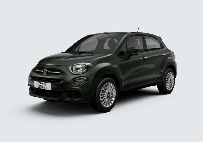 FIAT 500X 1.6 E-Torq 110 CV Urban Verde Technogreen Km 0 5N0BRN5-54829_esterno_lato_1