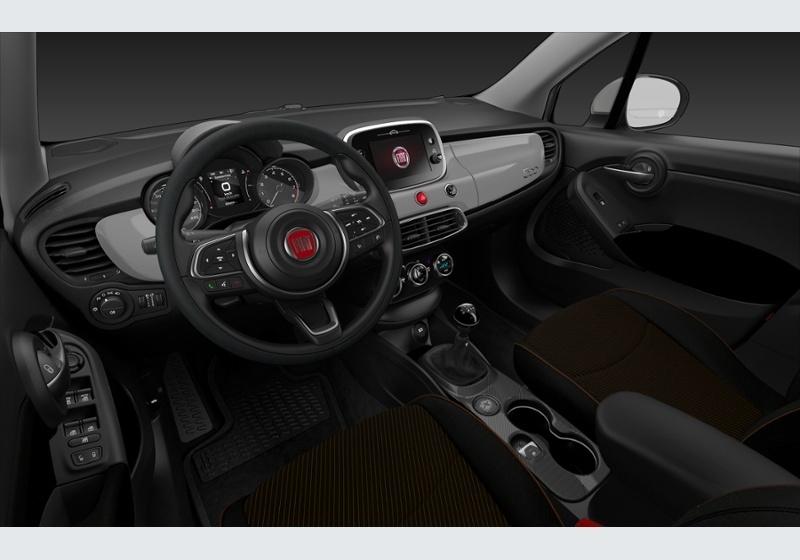 FIAT 500X 1.0 T3 120 CV Cross Bianco Gelato Km 0 OO1FS-24059_interno_lato_6