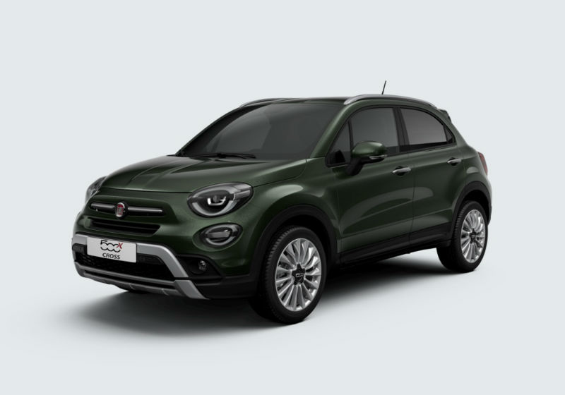 FIAT 500X 1.0 T3 120 CV Cross Verde Technogreen Km 0 MFTW2-1