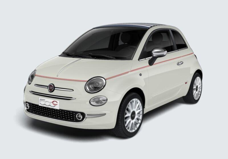 FIAT 500C 1.2 Dolcevita Bianco Gelato Km 0 VT0BLTV-47899_esterno_lato_1