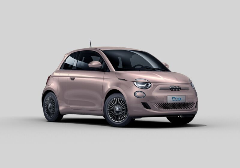 FIAT 500e Icon 3+1 Rose Gold Km 0 5Q0C4Q5-a