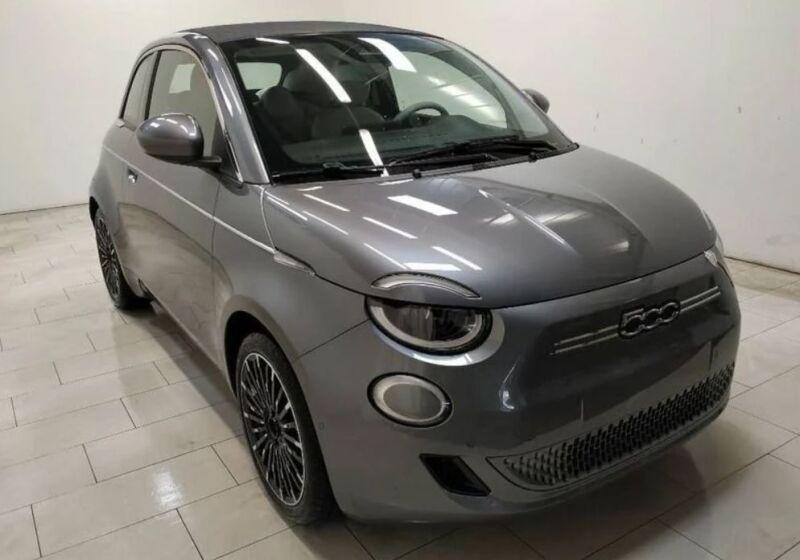 FIAT 500e La Prima Cabrio Mineral Grey Km 0 CF0CEFC-500e