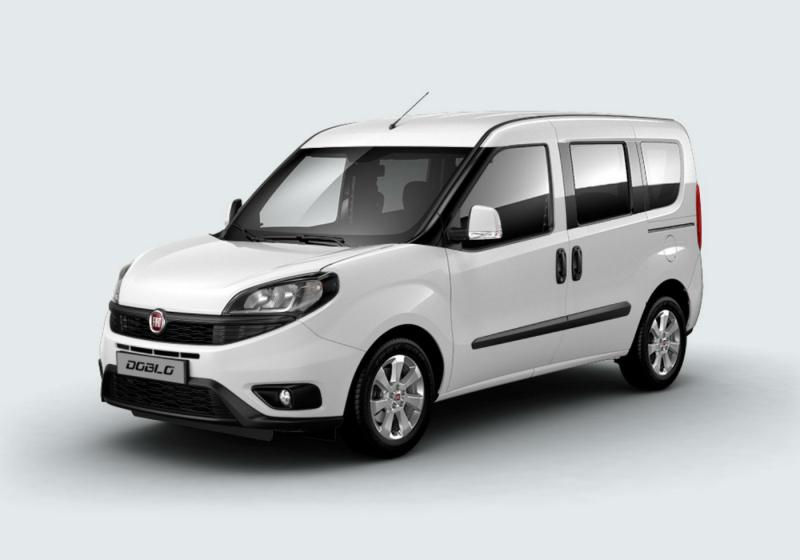 FIAT Doblò 1.6 MJT 120cv Lounge Bianco Gelato Km 0 1ABYA-a