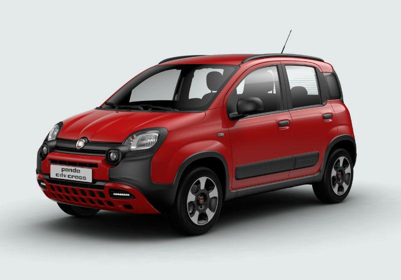 FIAT Panda 1.0 hybrid City Cross s&s 70cv Rosso Amore Km 0 ZP0B3PZ-a