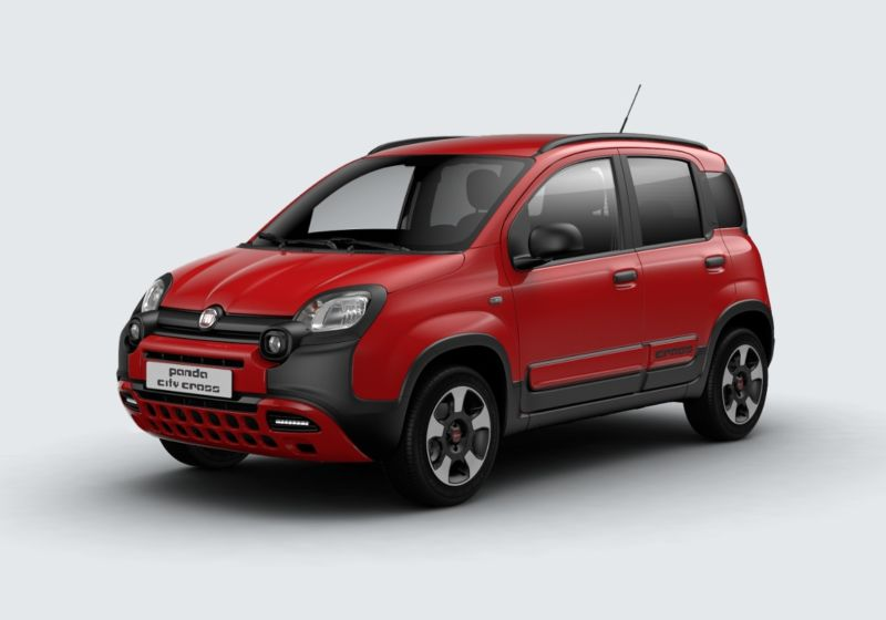 FIAT Panda 1.2 City Cross Rosso Amore Km 0 2S0B3S2-39619_esterno_lato_1