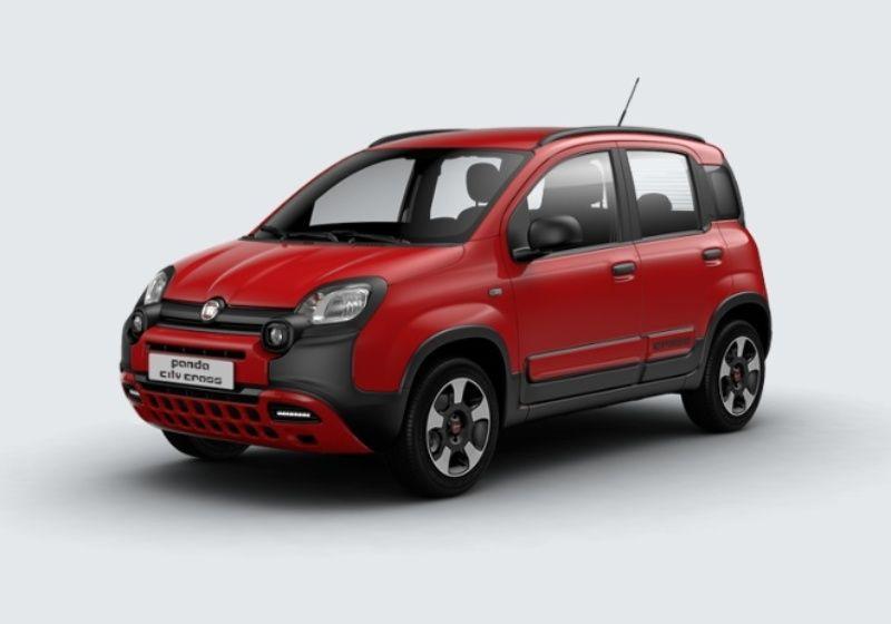 FIAT Panda 1.2 City Cross Rosso Amore Km 0 MDX0XDM-29839_esterno_lato_1