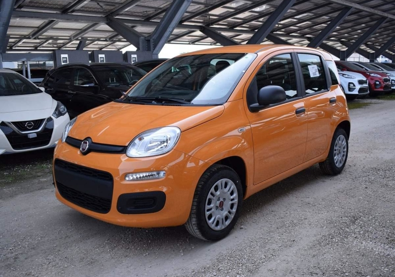 FIAT Panda 1.2 Easy Arancio Sicilia Km 0 0000VDV-A