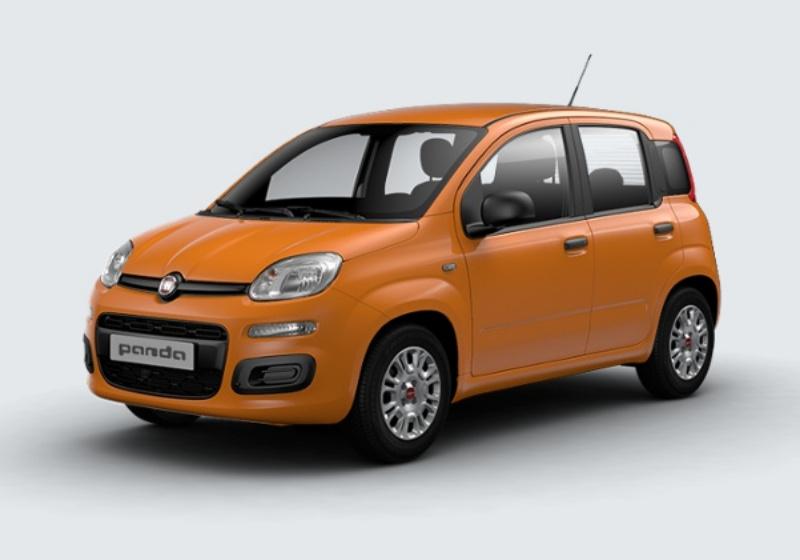 FIAT Panda 1.2 Easy Arancio Sicilia Km 0 44W0W44-29002_esterno_lato_1