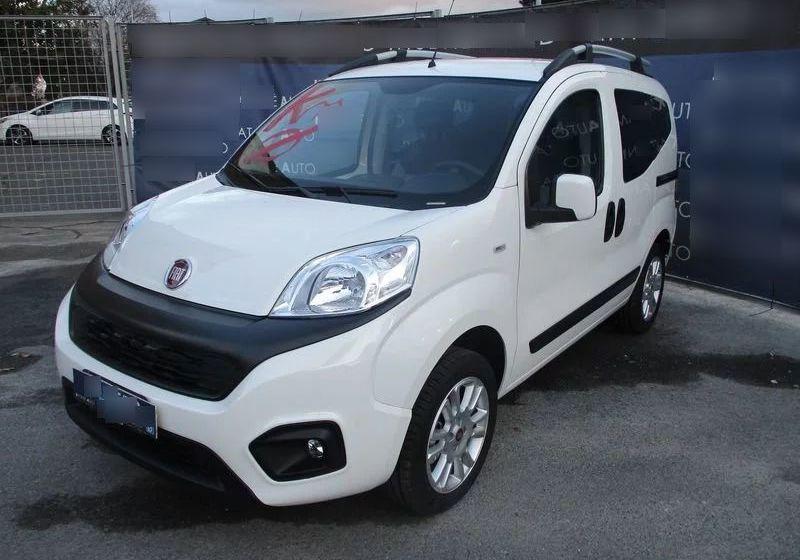 FIAT Qubo 1.4 8V 77 CV Lounge Natural Power Bianco Gelato Km 0 CH0B2HC-a_censored