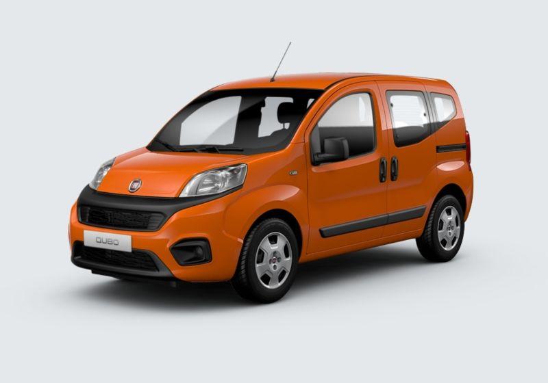 FIAT Qubo 1.4 8V Easy Natural Power Arancio Sicilia Km 0 2F0BFF2-40163_esterno_lato_1