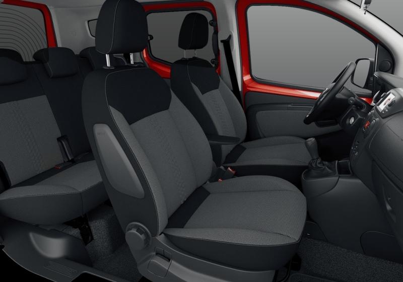 FIAT Qubo 1.3 MJT 80 CV Lounge Rosso Passione Km 0 464L3-f