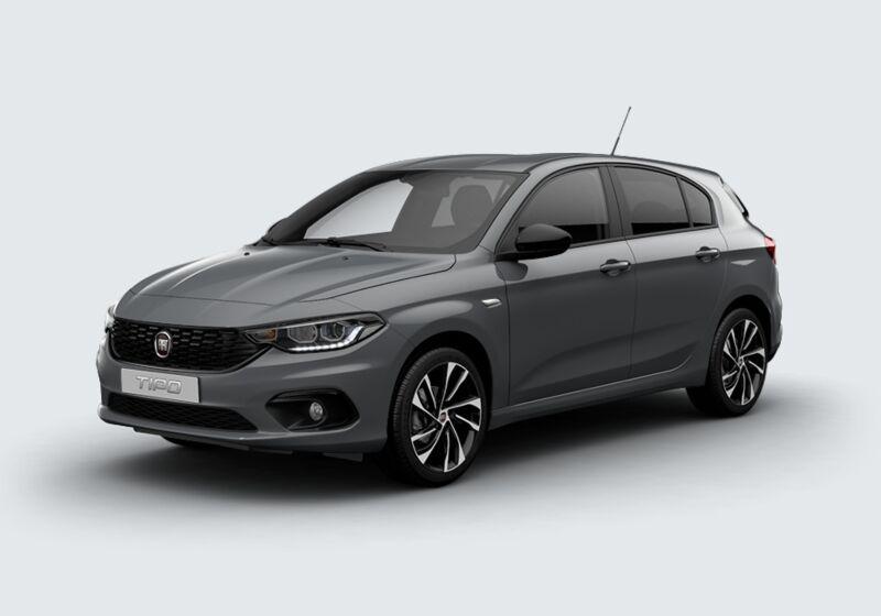 FIAT Tipo 1.4 5 porte S-Design Grigio Metropoli Km 0 LA0BPAL-51214_esterno_lato_1