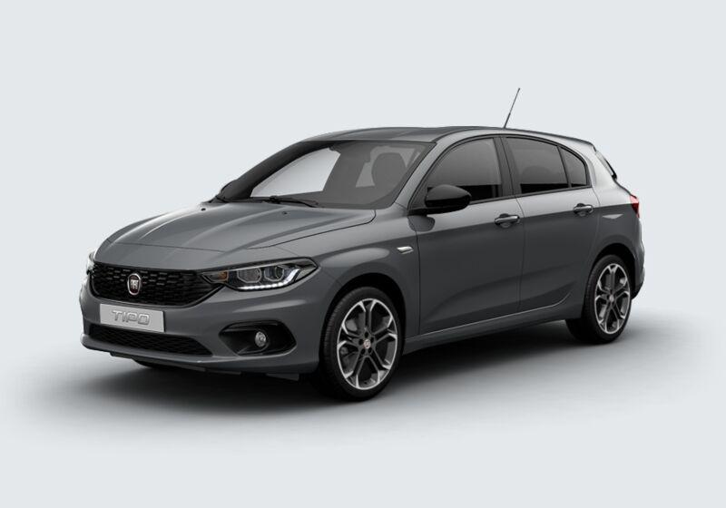 FIAT Tipo 1.6 Mjt S&S 5 porte S-Design Grigio Metropoli Km 0 380BN83-50918_esterno_lato_1
