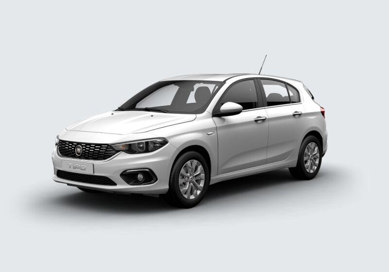 FIAT Tipo 1.6 Mjt S&S DCT 5 porte Business Bianco Gelato Km 0 5S0BYS5-64205_esterno_lato_1