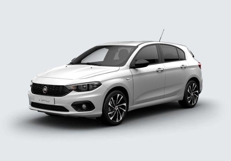 FIAT Tipo 5p 1.6 Mjt S-Design Bianco Gelato Km 0 GF0BCFG-35048_esterno_lato_1