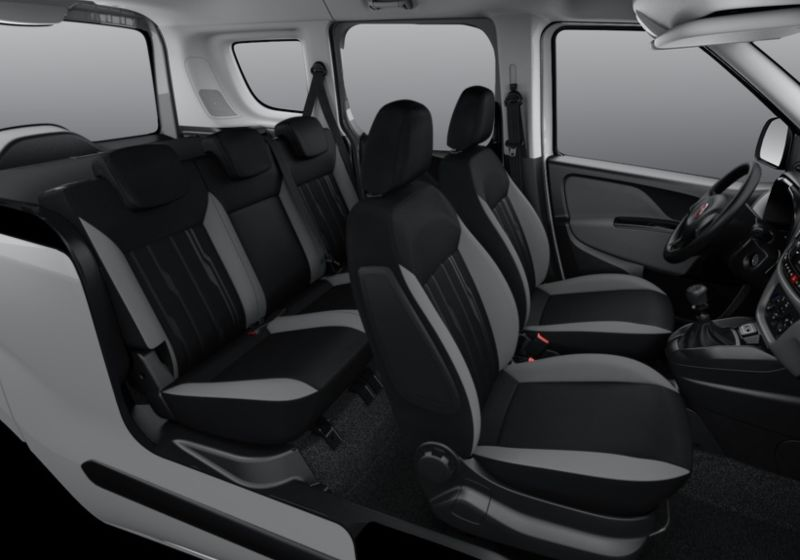 FIAT Doblò 1.4 T-Jet 16V Natural Power Easy My19 Bianco Gelato Km 0 5F0BFF5-40173_interno_lato_6