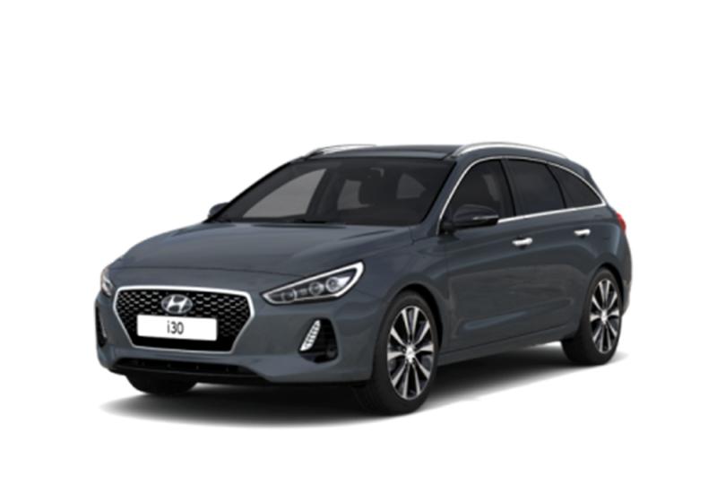 HYUNDAI i30 Wagon 1.6 CRDi 110 CV Go! Micron Grey Km 0 41S9Q-a