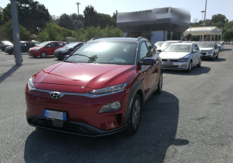 HYUNDAI Kona 64 kWh EV Exellence Pulse Red Usato Garantito MD0CGDM-a_censored