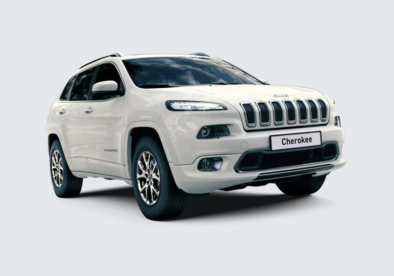 JEEP Cherokee 2.2 Mjt II 4WD Active Drive II Overland Bright White Km 0 3XP98-1