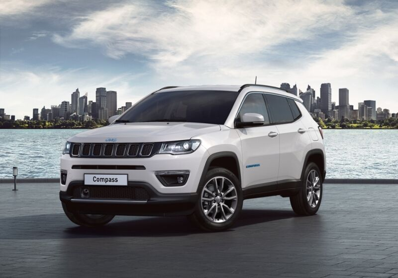 JEEP Compass 1.3 T4 190CV PHEV AT6 4xe Business Plus Alpine White Km 0 9C0BYC9-a-v1