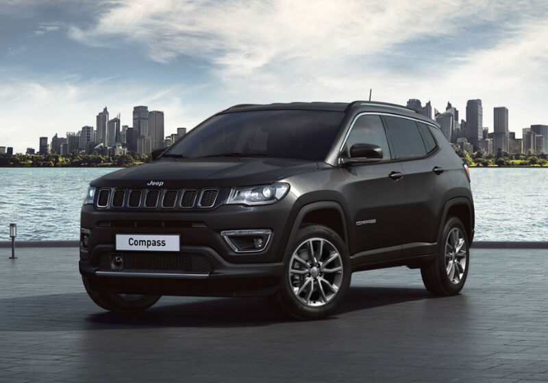 JEEP Compass 1.3 Turbo T4 150 CV aut. 2WD Limited Carbon Black Km 0 FN0BSNF-0A