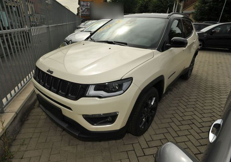 JEEP Compass 1.3 Turbo T4 150 CV aut. 2WD S Ivory White Km 0 NR0C4RN-a_censored