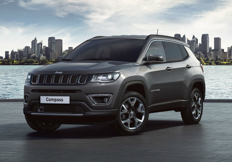 JEEP Compass 1.4 MultiAir 170 CV aut. 4WD Limited Granite Crystal Km 0 7Q0B3Q7-a