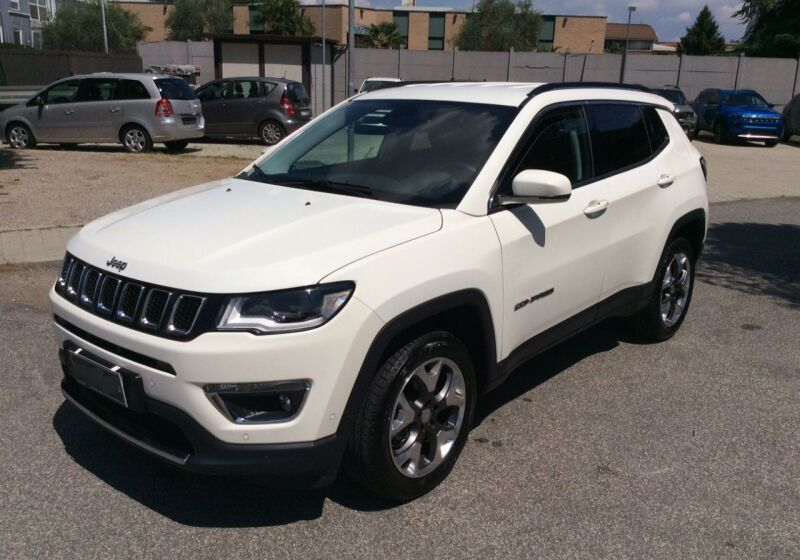 JEEP Compass 1.4 MultiAir 170 CV aut. 4WD Limited White Km 0 280CB82-a_censored