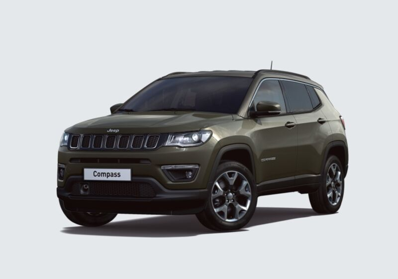 JEEP Compass 1.4 MultiAir 2WD Limited Olive Green Km 0 Y60BL6Y-47646_esterno_lato_1
