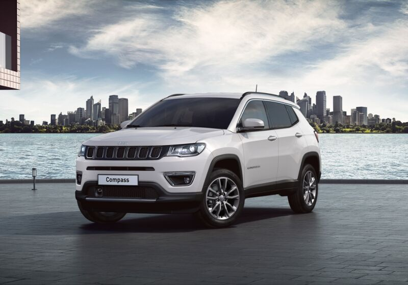 JEEP Compass 1.6 Multijet 2WD Limited Alpine White Km 0 650BS56-a