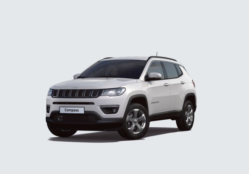 JEEP Compass 1.6 Multijet II 2WD Business White Km 0 WX0BJXW-44988_esterno_lato_1