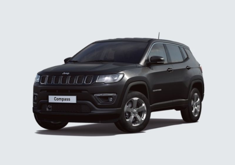 JEEP Compass 1.6 Multijet II 2WD Longitude Diamond Black Km 0 5N0BAN5-33325_esterno_lato_1