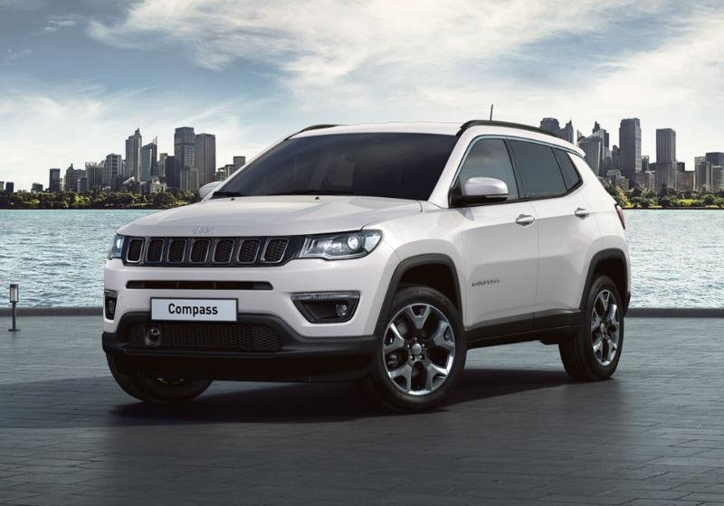 JEEP Compass 1.6 Multijet II 2WD Limited Pearl White Km 0 FWUGW-a