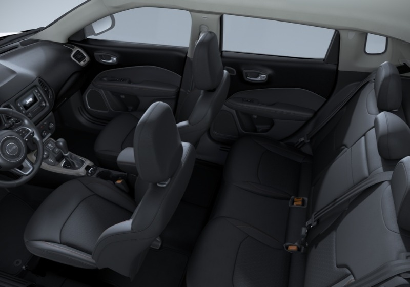 JEEP Compass 2.0 Multijet II aut. 4WD Longitude Diamond Black Km 0 06J68-8