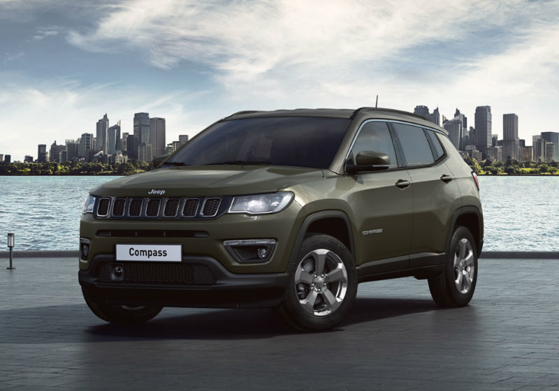 JEEP Compass 1.6 Multijet II 2WD Business Olive Green Km 0 QMC82-1