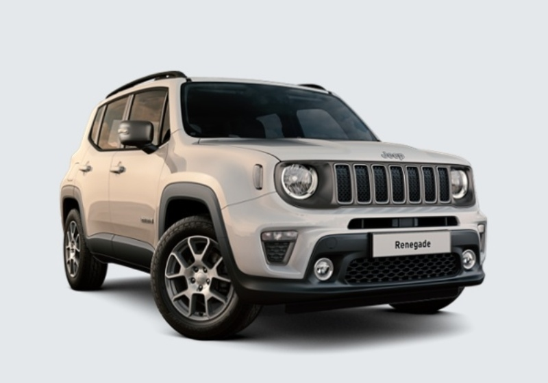 JEEP Renegade 1.0 T3 Limited MY19 Alpine White Km 0 K7U0U7K-26220_esterno_lato_1