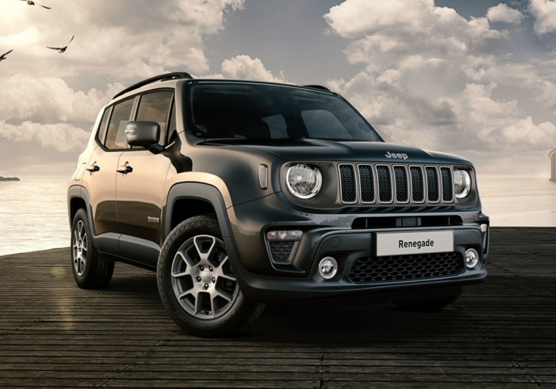 JEEP Renegade 1.0 T3 Limited MY19 Carbon Black Km 0 YEU0UEY-a