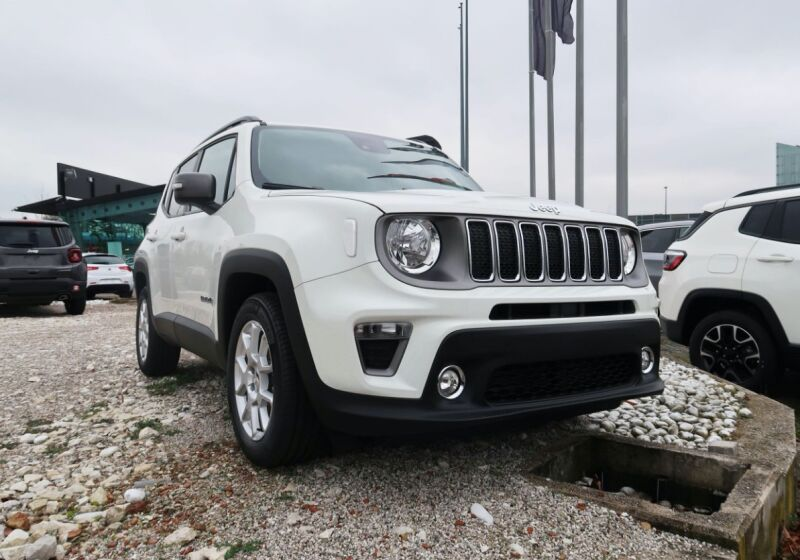 JEEP Renegade 1.0 T3 Limited Alpine White Km 0 N80BS8N-a