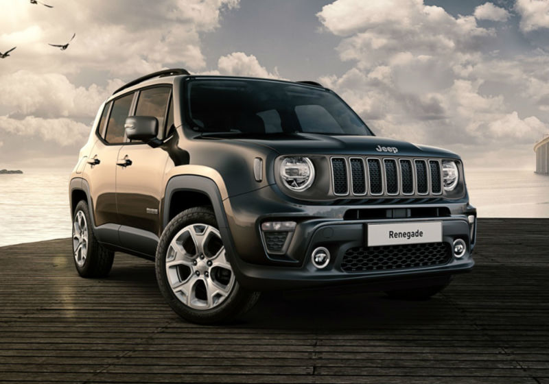 JEEP Renegade 1.0 T3 Limited Carbon Black Km 0 UN0BFNU-a