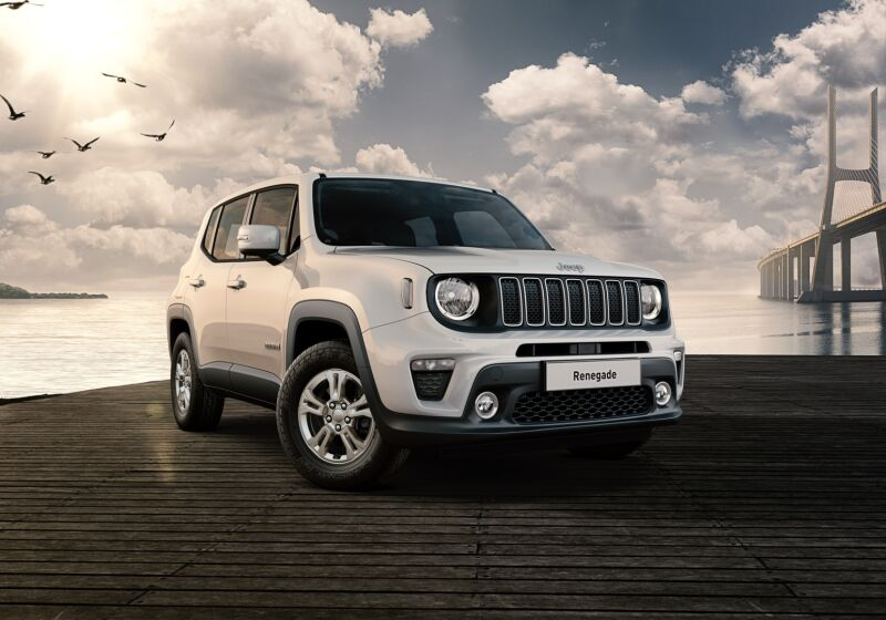 JEEP Renegade 1.0 T3 Longitude Alpine White Km 0 E70B77E-getImage