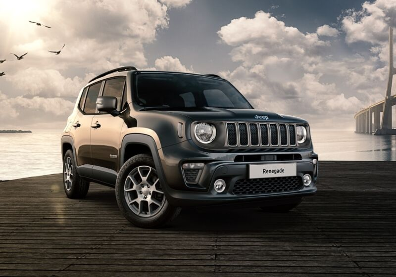 JEEP Renegade 1.3 T4 190CV PHEV 4xe AT6 Limited Carbon Black Km 0 S90C49S-a-v1