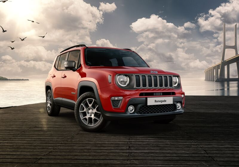 JEEP Renegade 1.3 T4 190CV PHEV 4xe AT6 Limited Colorado Red Km 0 7Y0CCY7-1