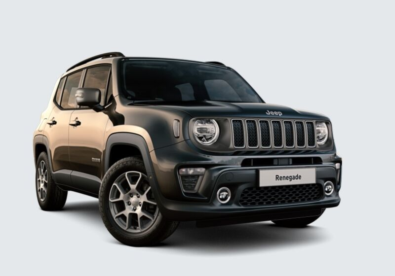 JEEP Renegade 1.3 T4 DDCT Limited Carbon Black Km 0 NS0BMSN-48849_esterno_lato_1