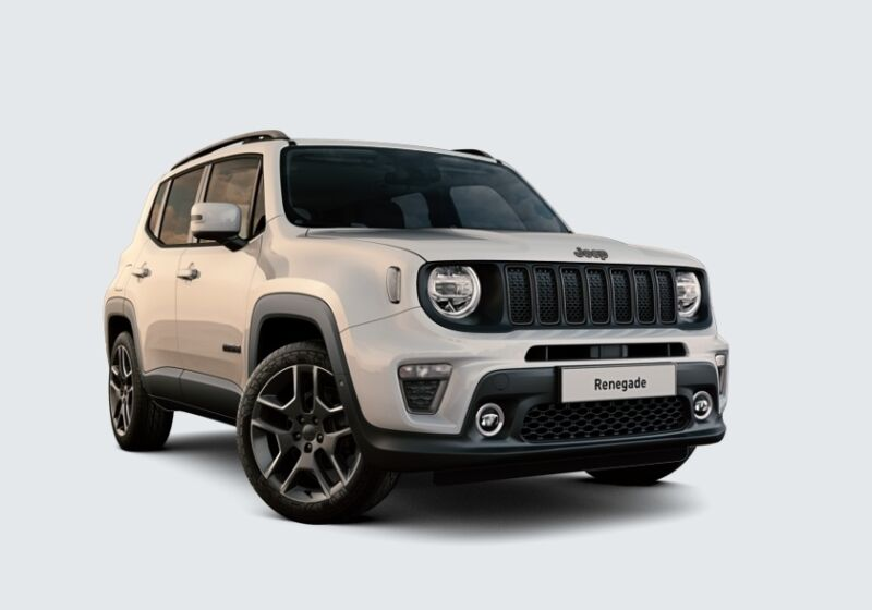 JEEP Renegade 1.3 T4 DDCT S MY 19 Alpine White Km 0 FY0BQYF-6-v1