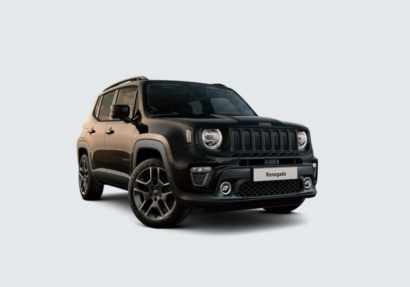 JEEP Renegade 1.3 T4 DDCT S MY 19 Solid Black Km 0 ND0B8DN-56465_esterno_lato_1