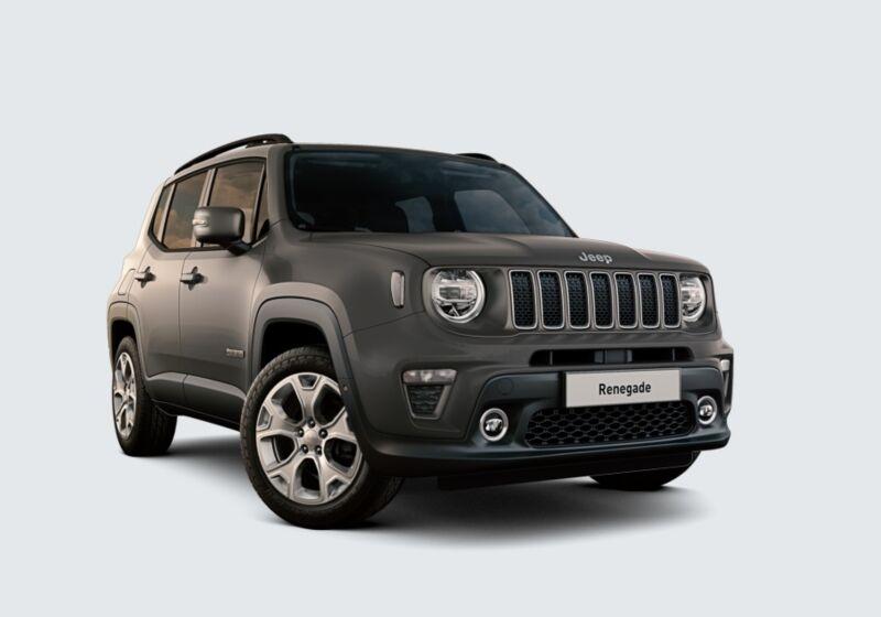 JEEP Renegade 1.6 Mjt 120 CV Limited Sting Gray Km 0 R60BR6R-01