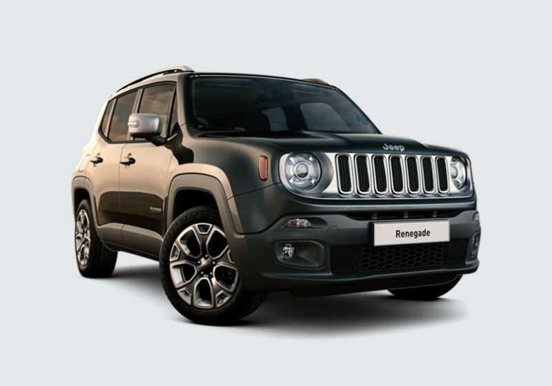 JEEP Renegade 1.4 MultiAir 170CV 4WD Active Drive Limited Carbon Black Km 0 T1Y7R-1